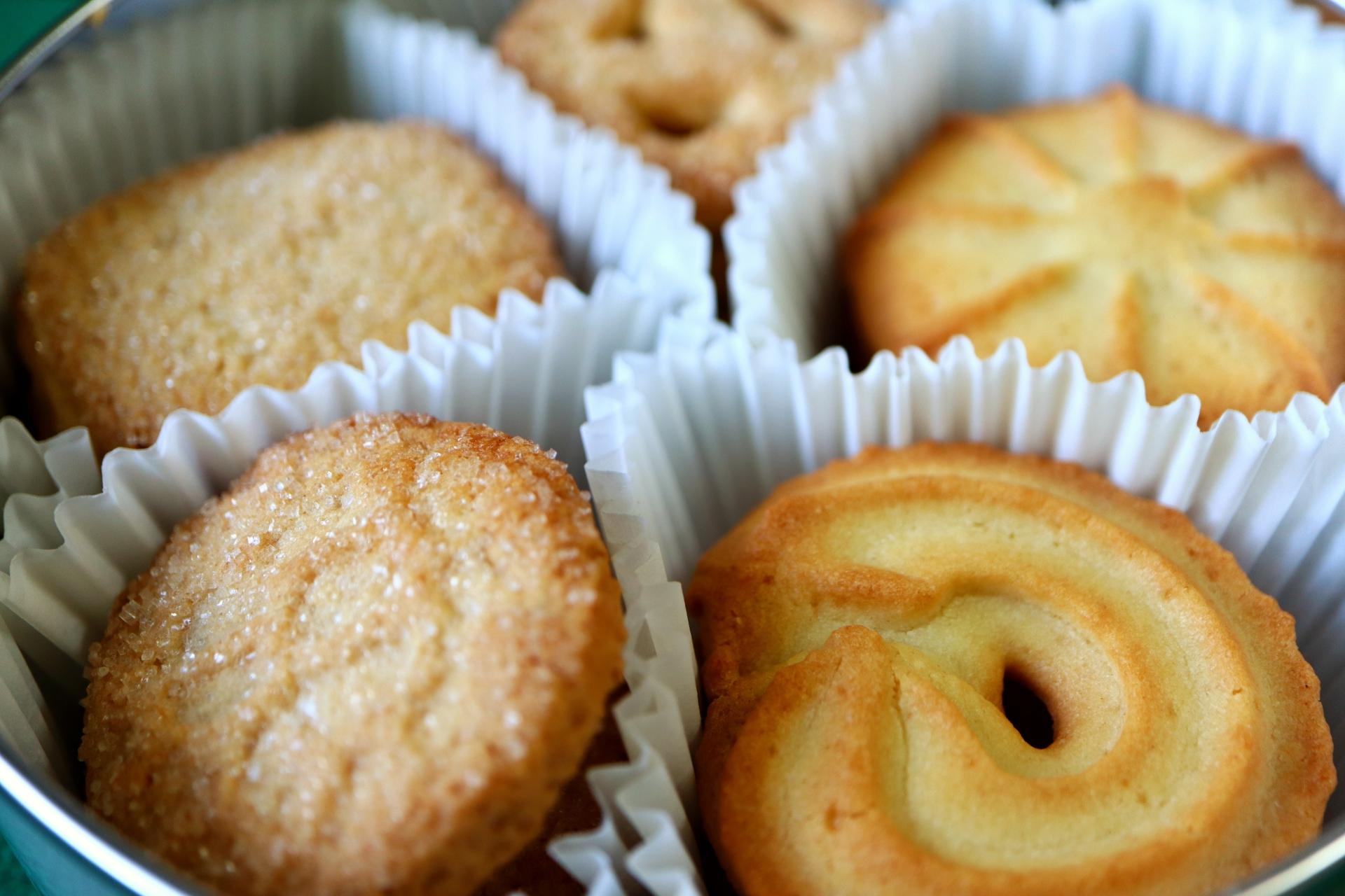 グリコSUNAOクッキーの食レポ記事のアイキャッチ画像
