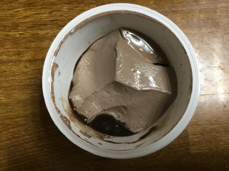 森永 おいしい低糖質チョコレートプリンのチョコソース