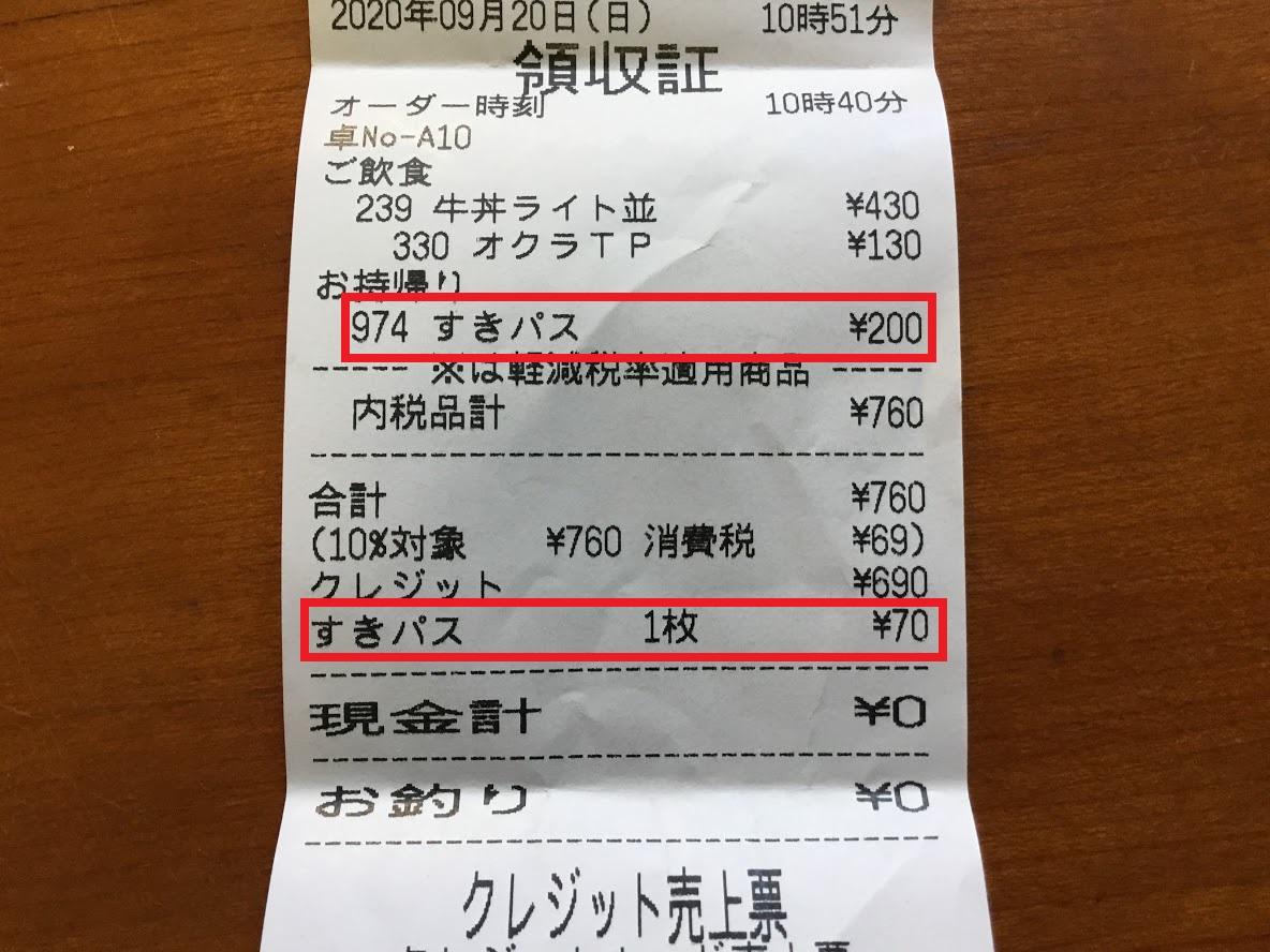 スキパス70円引き