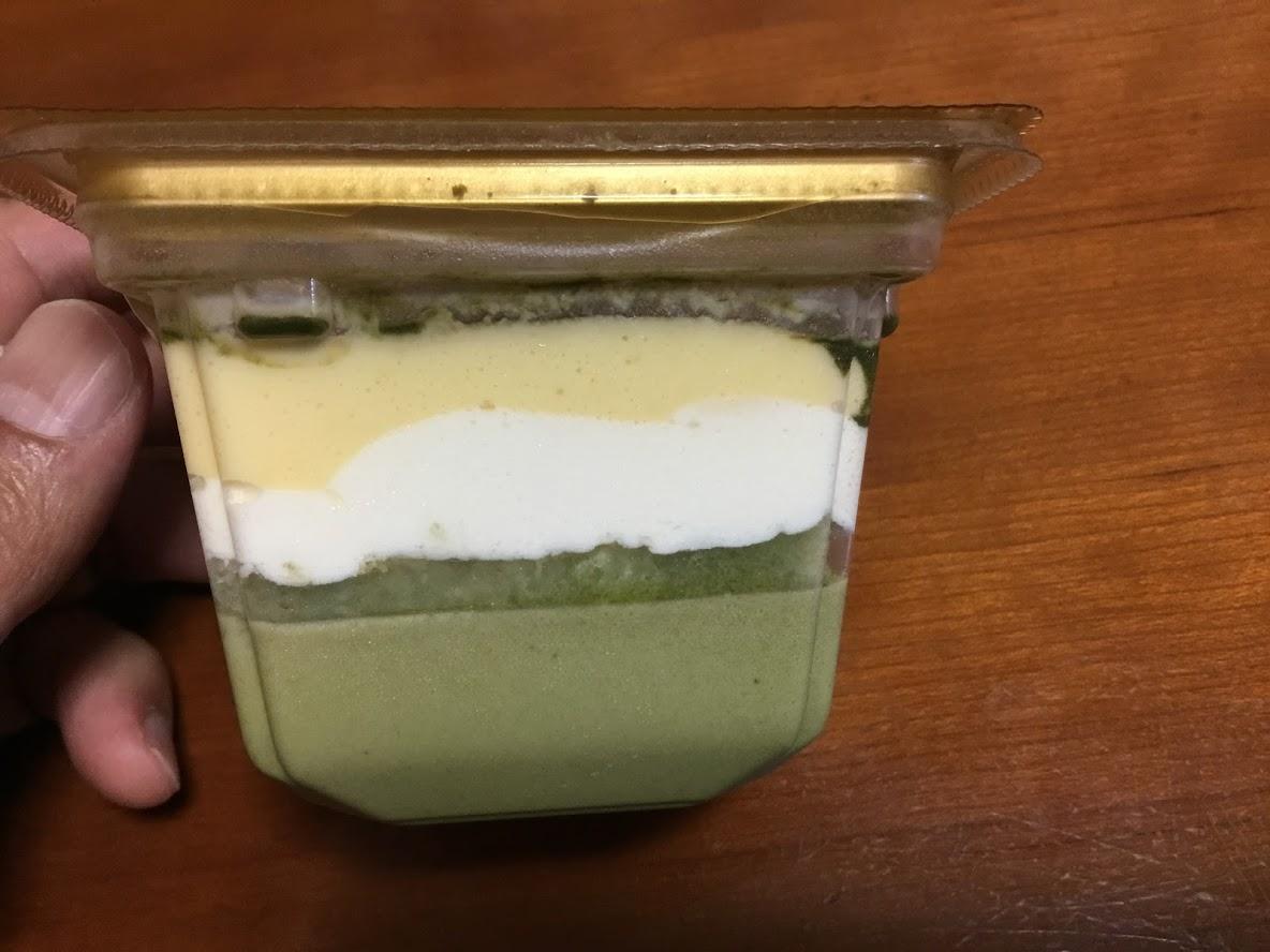 ドンレミー糖質コントロール宇治抹茶ティラミス