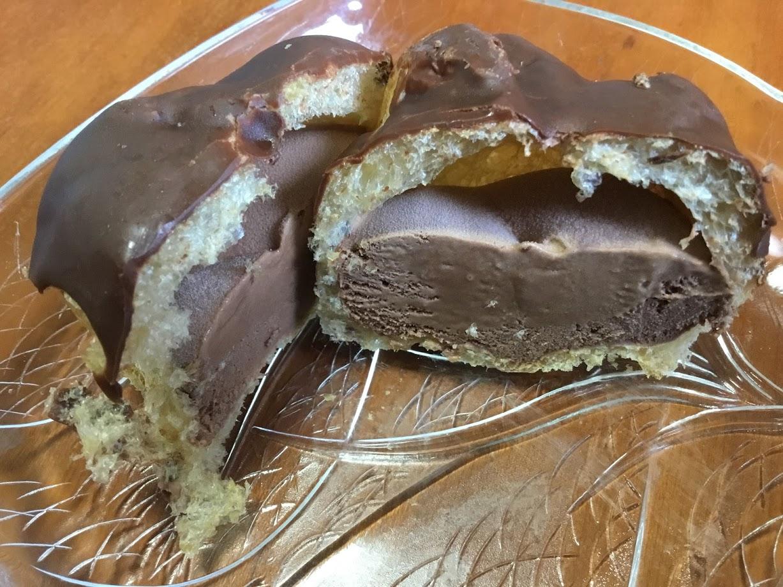 コープダブルチョコシューアイス
