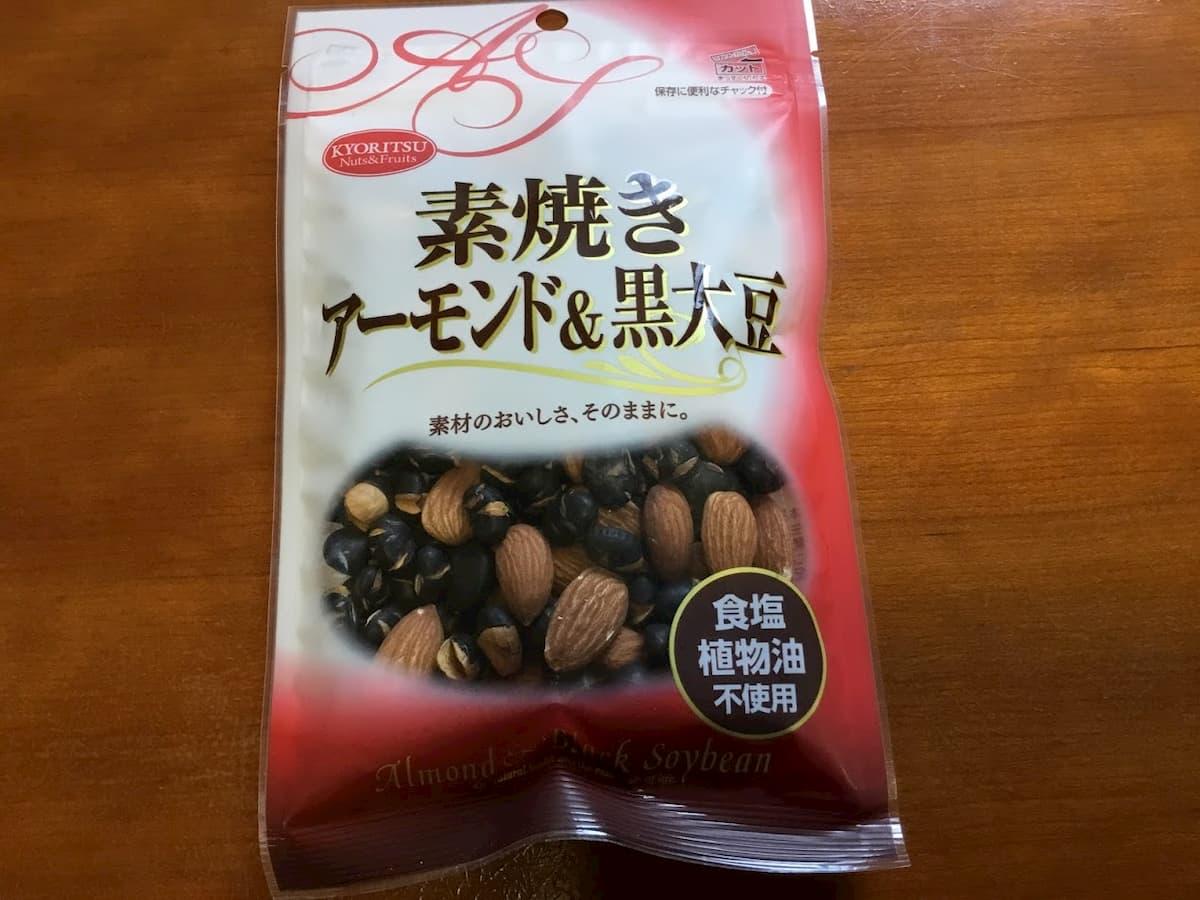 共立食品素焼きアーモンド&黒大豆