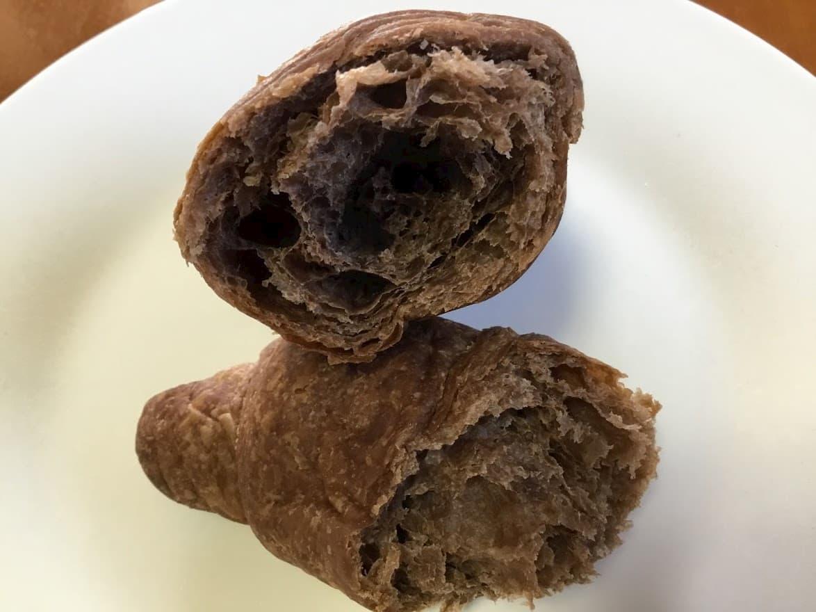 トップバリュ糖質30%オフ パネトーネ種使用 チョコクロワッサン
