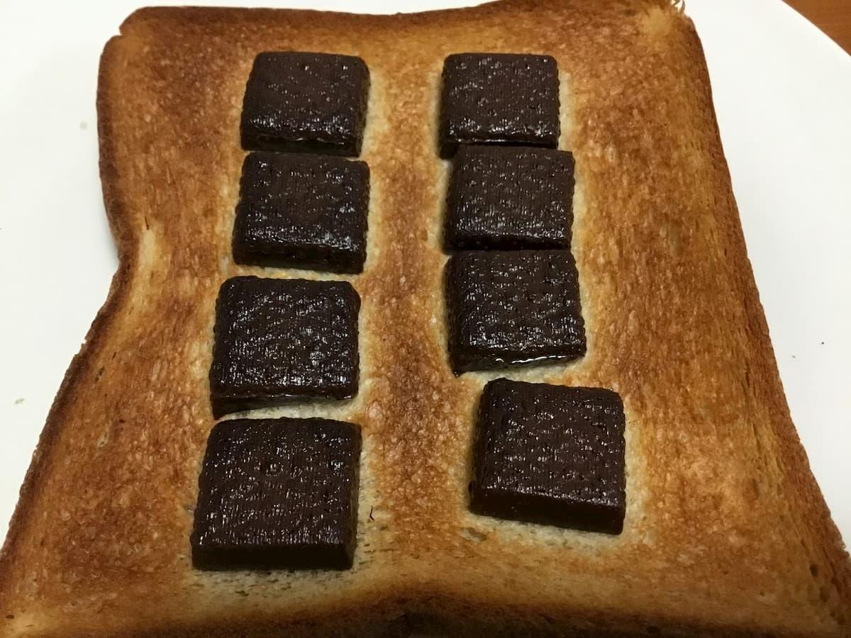 チョコレート効果レシピ大人のチョコトースト