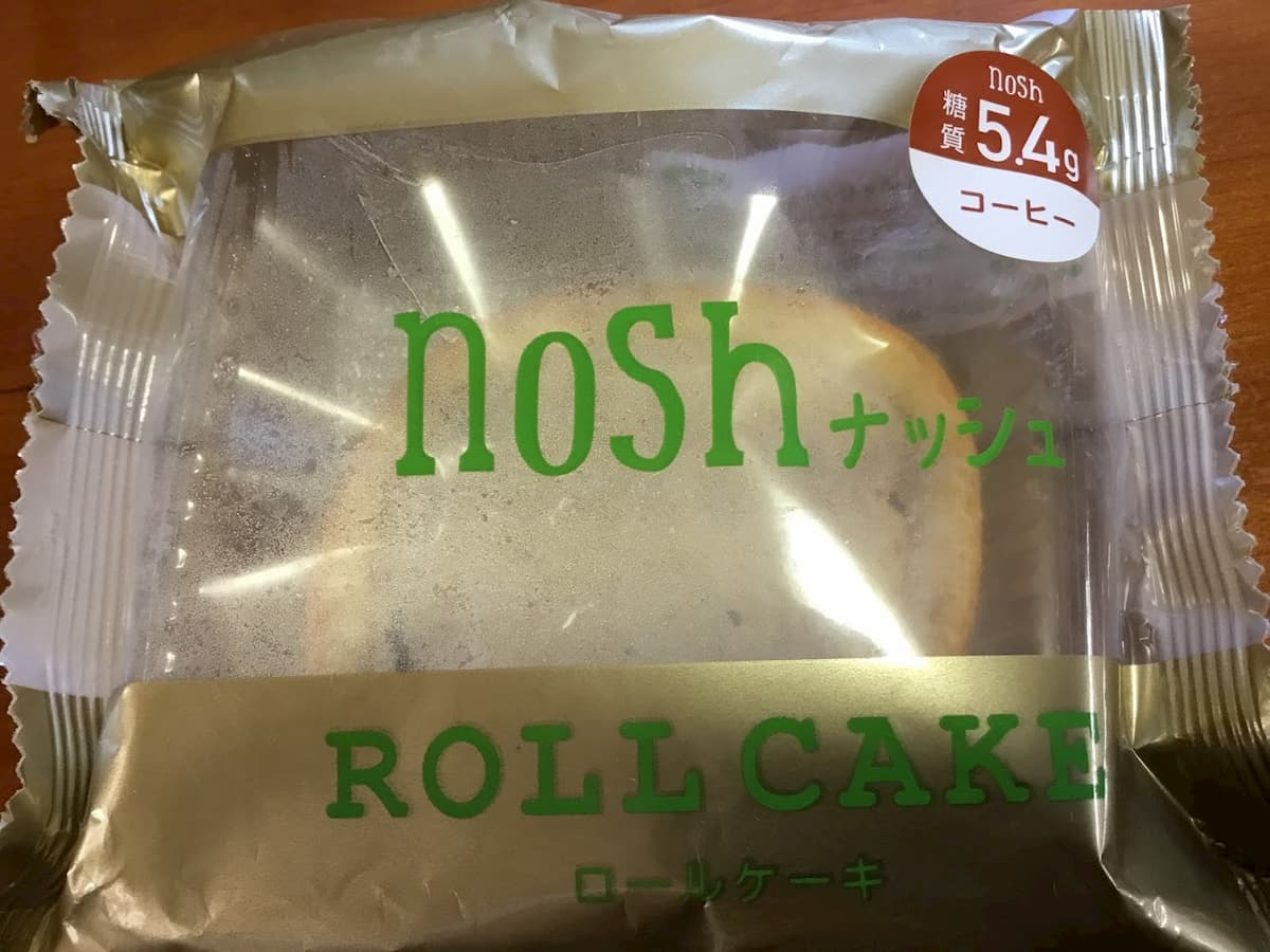 noshロールケーキコーヒー