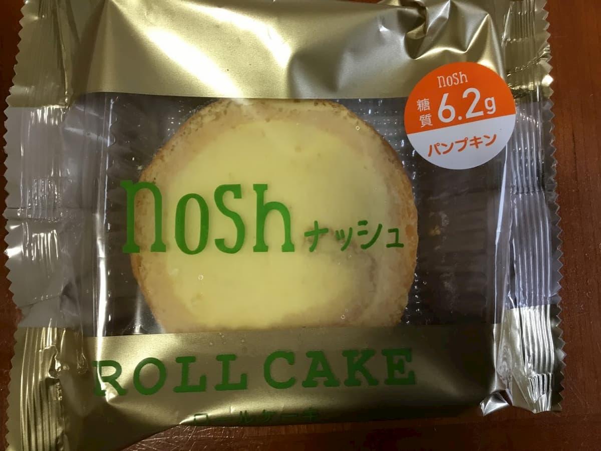 noshスイーツロールケーキパンプキン