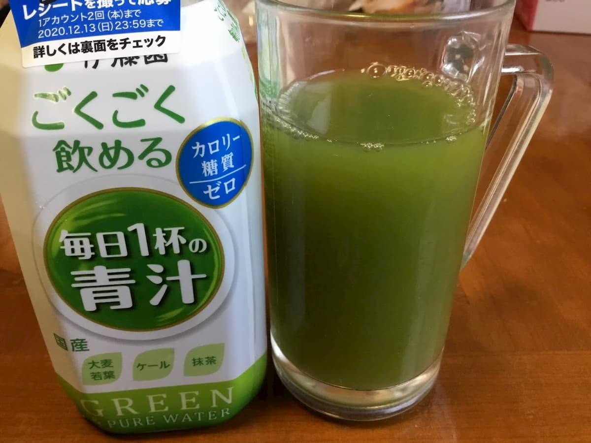 ペットボトル伊藤園ごくごく飲める毎日1杯の青汁
