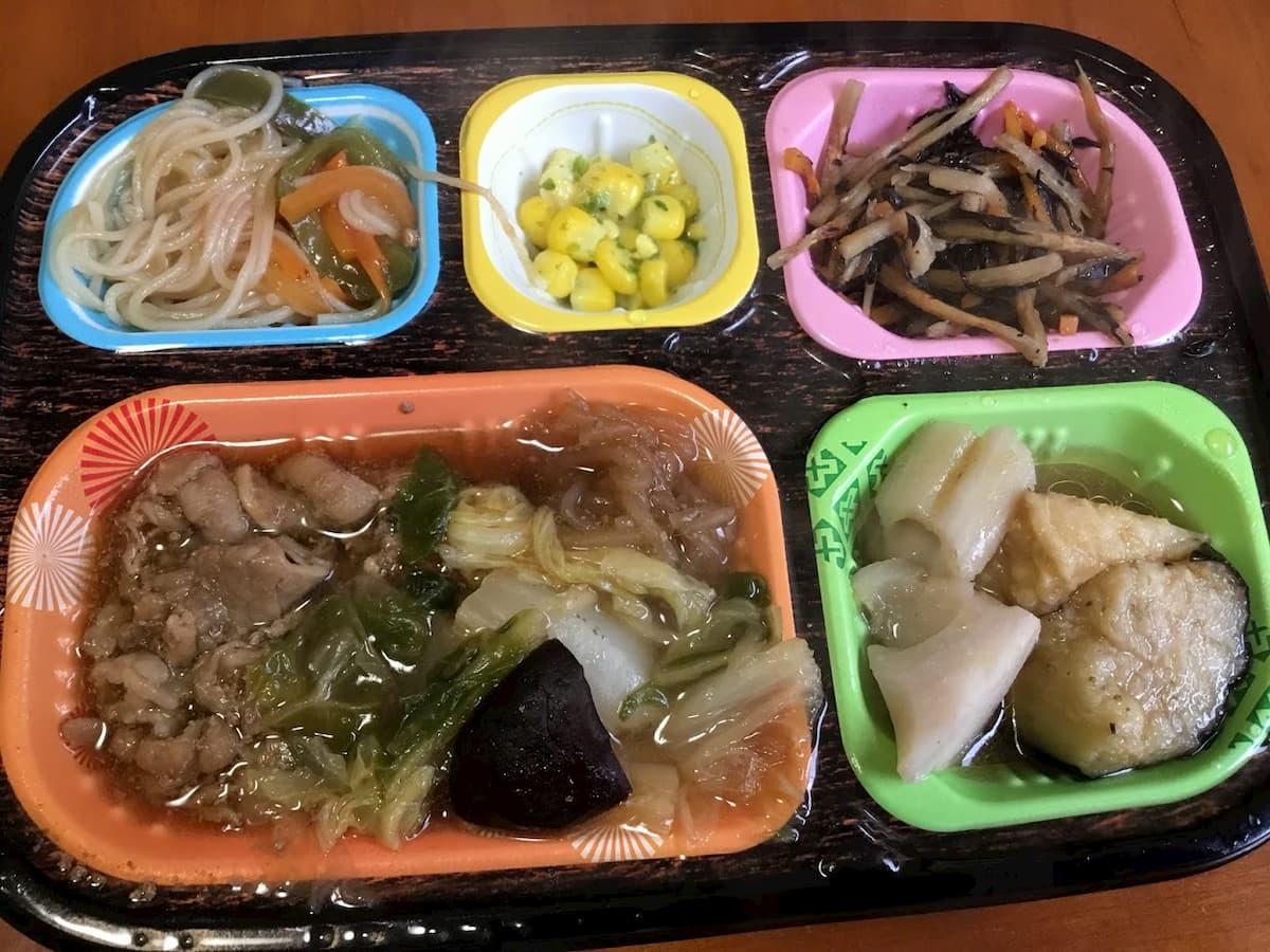 ワタミの宅食ダイレクト牛すき煮