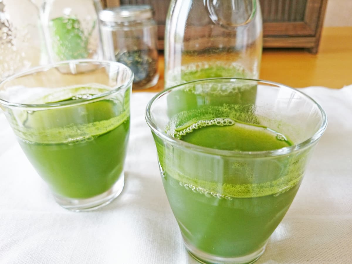 低糖質な青汁・スムージー