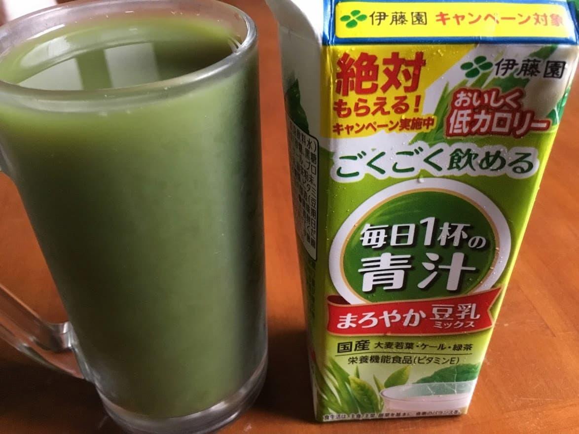 伊藤園 ごくごく飲める毎日1杯の青汁まろやか豆乳ミックス