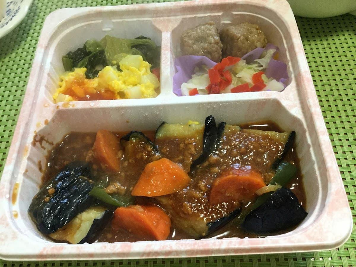彩り野菜の麻婆味噌セット
