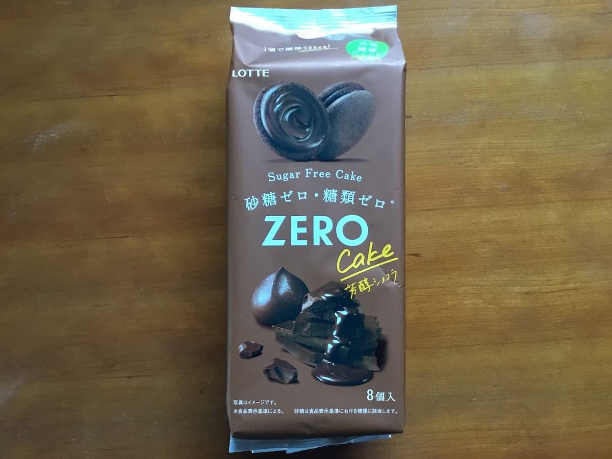 ゼロシュガーフリーケーキ 芳醇ショコラ