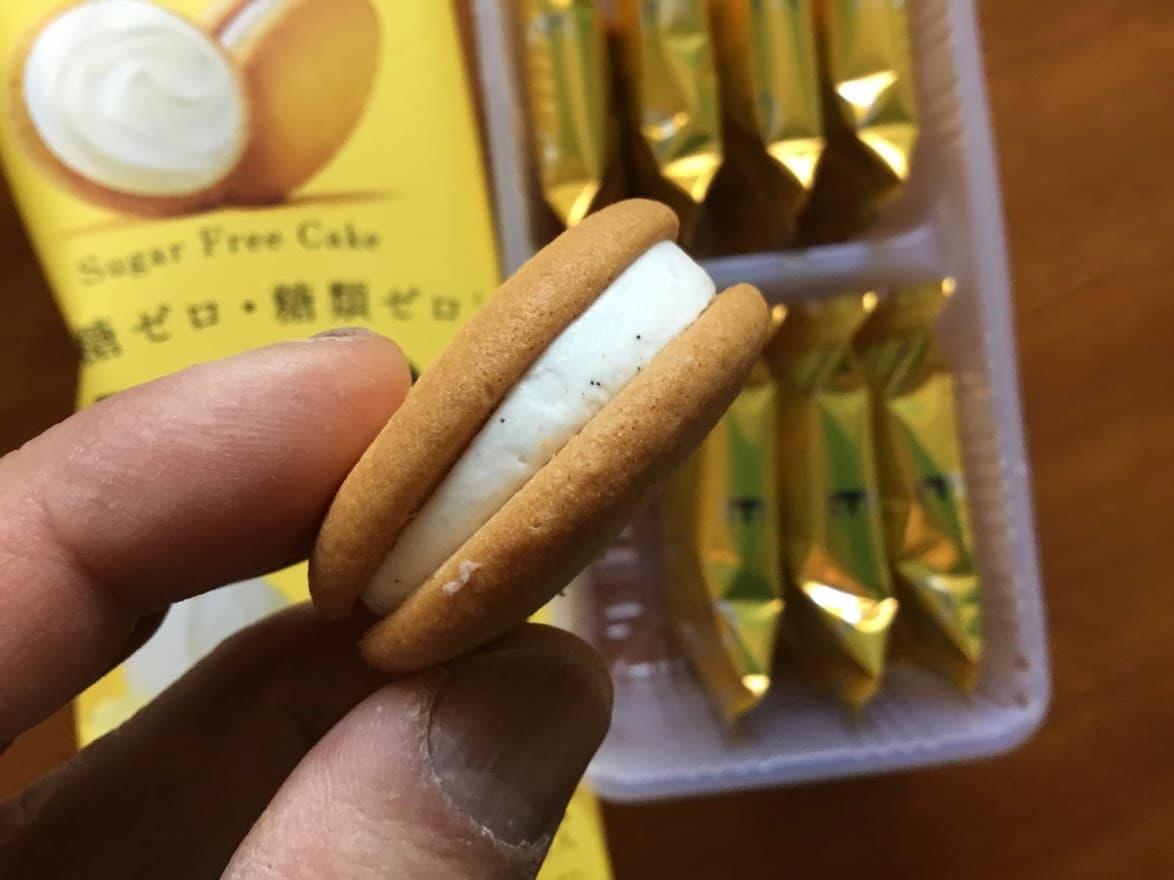 ゼロシュガーフリーケーキ 発酵バター×バニラ