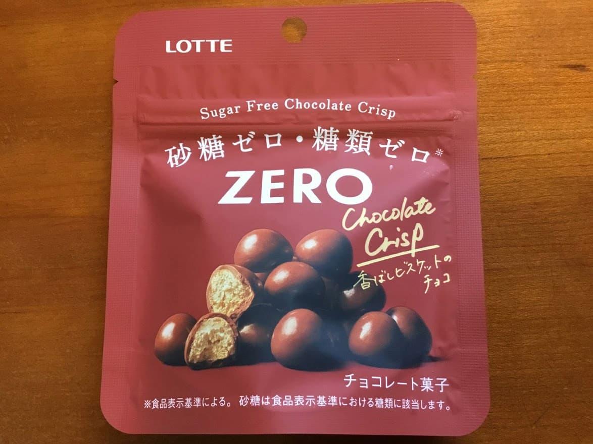 ゼロチョコレートクリスプ
